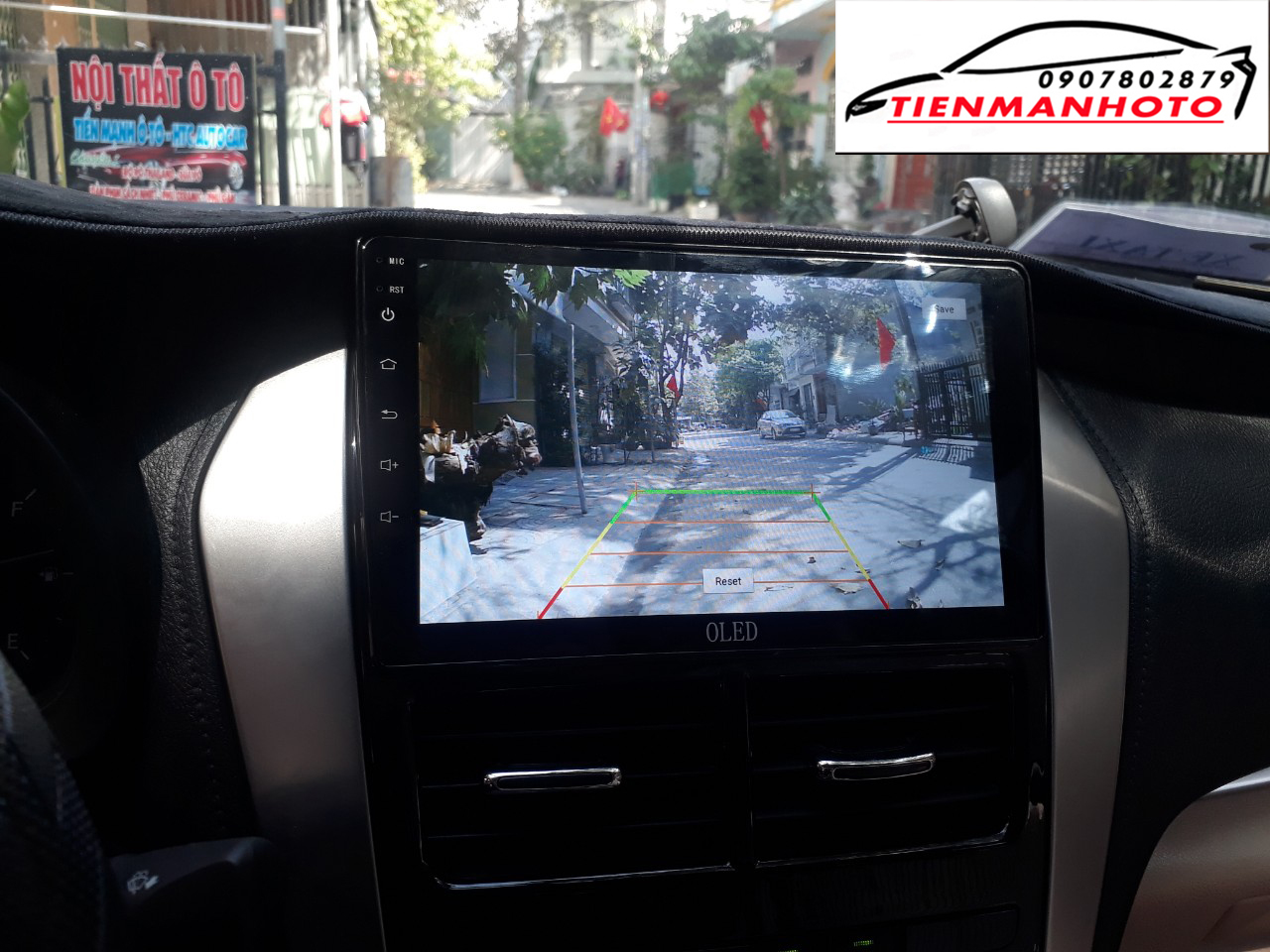 man hinh android toyota vios