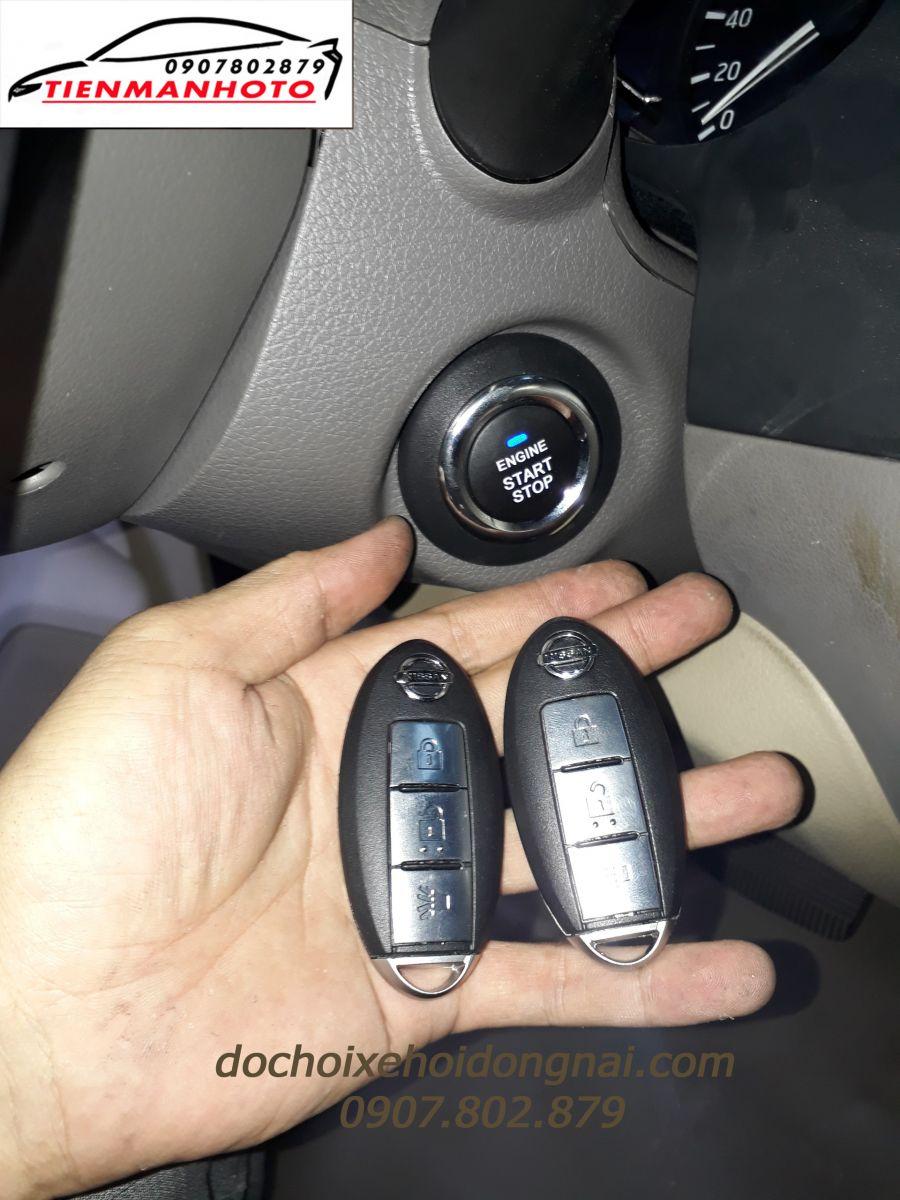 chìa khoá thông minh ô tô