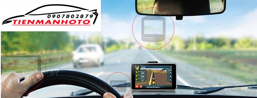 camera hành trình A45 là Thiết bị đa chức năng cho phép vừa dẫn đường vừa làm camera hành trình ghi hình trước sau cùng lúc LH: 0907.802.879